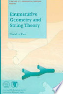 Enumerative Geometry and String Theory Book