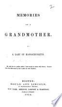 Memories of a Grandmother