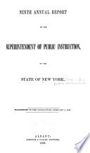 Annual Report of the Superintendent of Public Instruction  of the State of New York Book