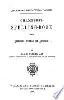Chambers s spelling book