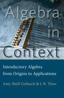 Algebra in Context