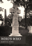 Who's who Along the North Shore of Massachusetts Bay