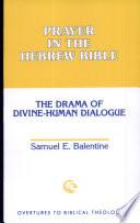 Prayer In The Hebrew Bible Book PDF