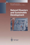 Natural Disasters and Sustainable Development Pdf/ePub eBook