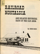 Railroad Nostalgia and Related Historical Facts of the Clio Area