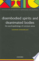 Cover of Disembodied Spirits and Deanimated Bodies