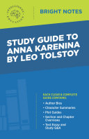 Pdf Study Guide to Anna Karenina by Leo Tolstoy Telecharger