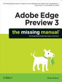 Adobe Edge Preview 3: The Missing Manual [Pdf/ePub] eBook