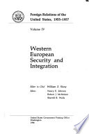 Western European Security and Integration