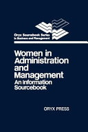 Women in Administration and Management