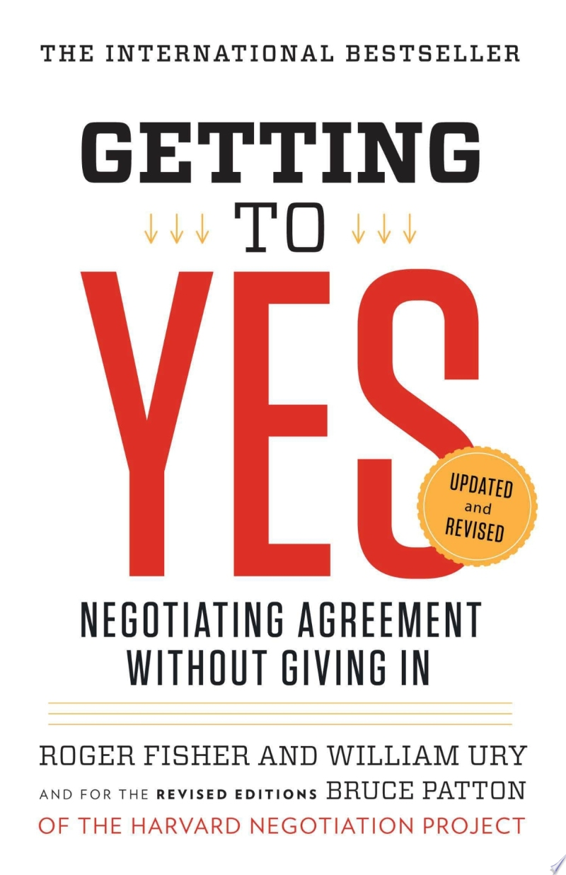 Getting to Yes image