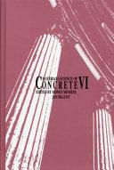Materials Science of Concrete VI Book