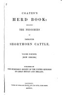 Coates's Herd Book