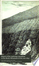 Report of the Exploring Expedition to the Rocky Mountains in the Year 1842