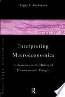 Interpreting Macroeconomics