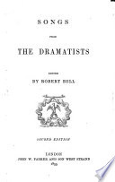 Songs from the Dramatists  2  Ed