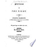 Songs in the Night ... The eleventh edition
