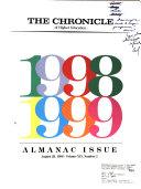 The Chronicle of Higher Education Almanac