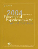 The 2004 Guide To The Evaluation Of Educational Experiences In The Armed Services Book PDF