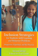 Inclusion Strategies for Students with Learning and Behavior Problems