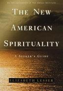 The New American Spirituality