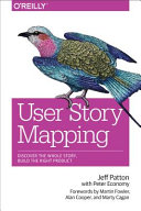 User Story Mapping book cover image