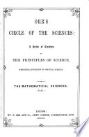 Orr S Circle Of The Sciences The Mathematical Sciences