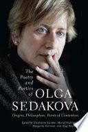 The Poetry and Poetics of Olga Sedakova