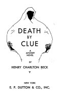 Death by Clue Book