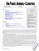 Air Force Journal Of Logistics Vol22 No4
