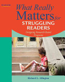 What Really Matters for Struggling Readers