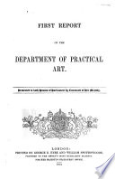 Report of the Department of Practical Art