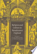 Religion and Culture in Renaissance England