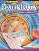Sixth Grade Math Minutes
