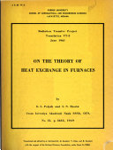 On the Theory of Heat Exchange in Furances