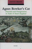 Agnes Bowker S Cat
