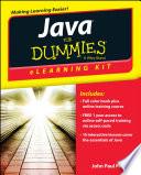 Java ELearning Kit For Dummies