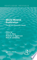 World Mineral Exploration