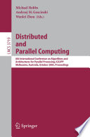 Distributed and Parallel Computing