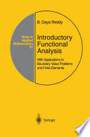 Introductory Functional Analysis Book PDF