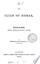 The Iliad  tr  with notes by T A  Buckley Book