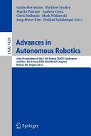 Advances in Autonomous Robotics