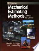 Means Mechanical Estimating Methods  Takeoff   Pricing for HVAC   Plumbing  Updated 4th Edition Book