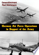 German Air Force Operations in Support of the Army