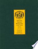 Hawaiian National Bibliography 1780 1900