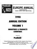 Predicasts F & S Index Europe