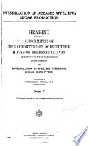 Hearings Before the Committee on Agriculture  House of Representatives  Seventy ninth Congress  First second Session