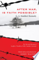 After War  Is Faith Possible  Book