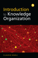 Introduction To Knowledge Organisation Book PDF