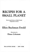 Recipes for a Small Planet Book